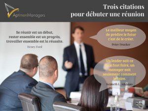 3 citations pour débuter une réunion (1)