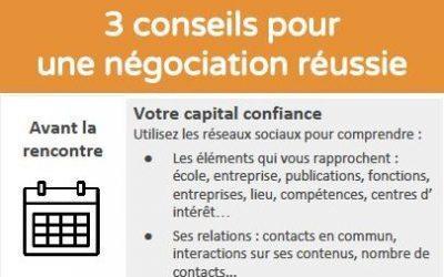 3 conseils pour une négociation réussie